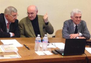 Da sinistra: Pierpaolo Donati, Marco Cevenini, Mauro Moruzzi